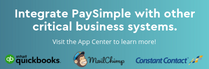 Visit the App Center for PaySimple integrations!